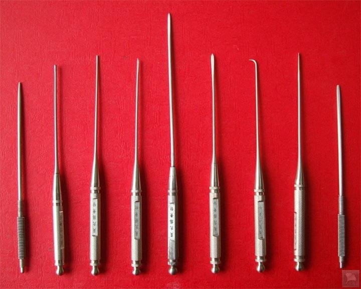 Evolvement And Efficacy Of Acupuncture Needles